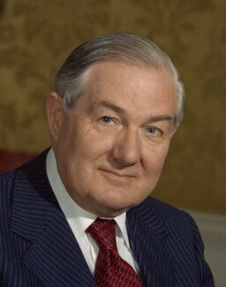 James Callaghan, by Bern Schwartz - NPG P1147