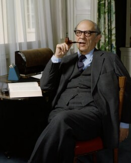 Sir Isaiah Berlin, by Bern Schwartz - NPG P1142