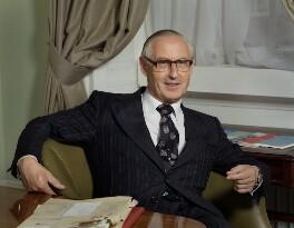 Douglas Albert Vivian Allen, Baron Croham, by Bern Schwartz - NPG P1157