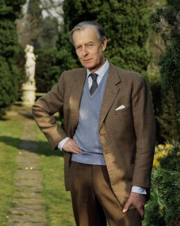 (Charles) Garrett Ponsonby Moore, 11th Earl of Drogheda, by Bern Schwartz - NPG P1164