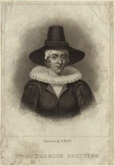 Katharine Brettergh (née Bruen), by R. Page - NPG D25598
