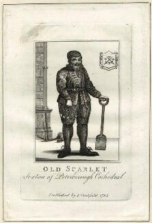 Robert Scarlett ('Old Scarlett'), published by James Caulfield - NPG D25600