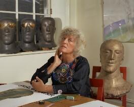 Elisabeth Frink, by Bern Schwartz - NPG P1171