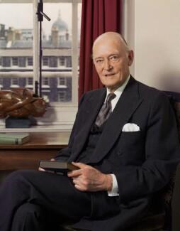 Gerald Austin Gardiner, Baron Gardiner, by Bern Schwartz - NPG P1172