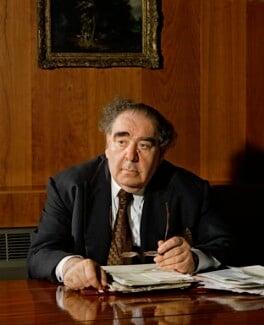 Arnold Abraham Goodman, Baron Goodman, by Bern Schwartz - NPG P1176