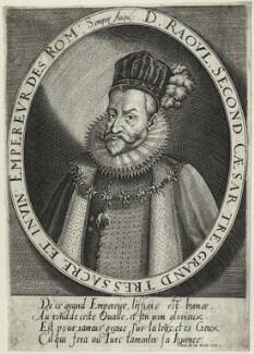 Rudolf II, Holy Roman Emperor, by Paul de la Houve - NPG D25604