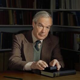 Sir Alan Lloyd Hodgkin, by Bern Schwartz - NPG P1184