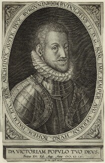 Rudolf II, Holy Roman Emperor, by Hans (or Jans) van Luyck - NPG D25607