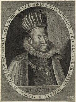 Rudolf II, Holy Roman Emperor, by Heinrich Ulrich - NPG D25608