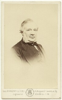 Samuel Smiles, by Samuel Alexander Walker - NPG x22628