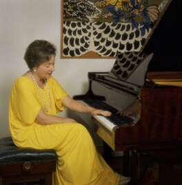 Dame Moura Lympany, by Bern Schwartz - NPG P1199