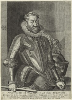 Rudolf II, Holy Roman Emperor, after Unknown artist - NPG D25614