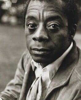 James Baldwin, by Mark Gerson - NPG x88248