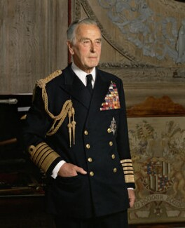 Louis Mountbatten, Earl Mountbatten of Burma, by Bern Schwartz - NPG P1215