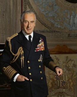 Louis Mountbatten, Earl Mountbatten of Burma, by Bern Schwartz - NPG P1216