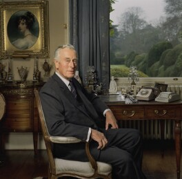 Louis Mountbatten, Earl Mountbatten of Burma, by Bern Schwartz - NPG P1217
