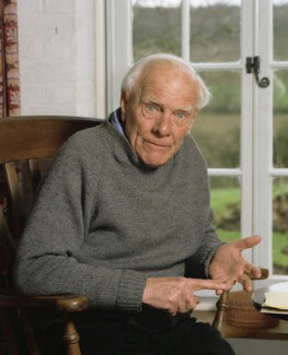 Malcolm Muggeridge, by Bern Schwartz - NPG P1220