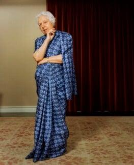 Vijaya Lakshmi Pandit (née Sarup Kumari Nehru), by Bern Schwartz - NPG P1231