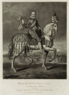 Henri IV, King of France, by Charles Turner, after  Renold or Reginold Elstrack (Elstracke) - NPG D25625
