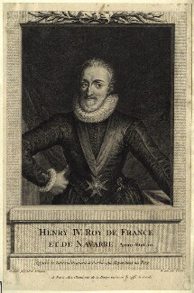 Henri IV, King of France, by Pierre Chenu - NPG D25628