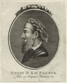 Henri IV, King of France, after Unknown artist - NPG D25631
