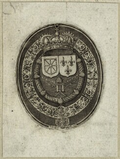 The seal of Henry IV, King of France, by Simon de Passe - NPG D25632