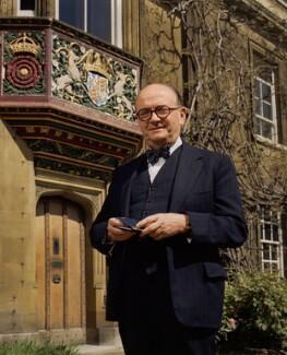 Sir John Harold Plumb, by Bern Schwartz - NPG P1236