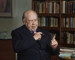 J.B. Priestley, by Bern Schwartz - NPG P1239