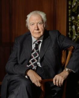 Lionel Charles Robbins, Baron Robbins, by Bern Schwartz - NPG P1245