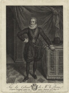 Henri IV, King of France, by François Hubert, after  Frans Pourbus - NPG D25635