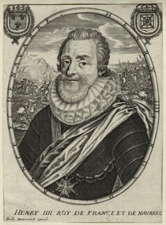Henri IV, King of France, published by Balthasar Moncornet - NPG D25638