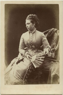 Princess Alice, Grand Duchess of Hesse, by Alexander Bassano - NPG x26108