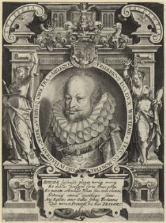 Frederick I, Duke of Württemberg, by Jacob ab Heyden - NPG D25640