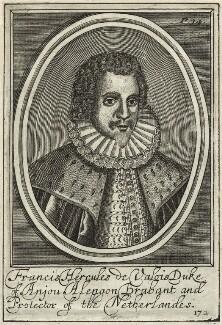 Hercule François, Duke of Anjou, after Unknown artist - NPG D25641