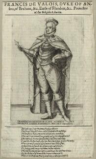 Hercule François, Duke of Anjou, after Unknown artist, possibly 17th century - NPG D25644 - © National Portrait Gallery, London