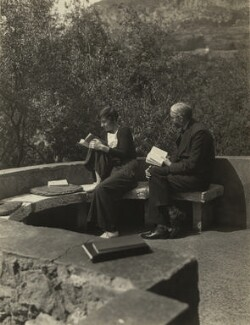 Alix Strachey; James Beaumont Strachey, by Unknown photographer - NPG x13108
