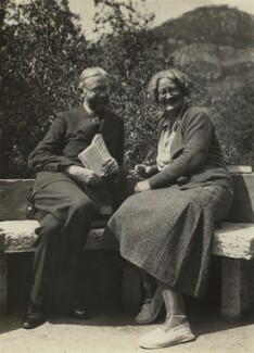 James Beaumont Strachey; Marjorie Strachey, by Unknown photographer, mid 1930s - NPG x13167 - © National Portrait Gallery, London