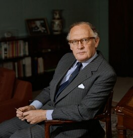 Sir David Edward Charles Steel, by Bern Schwartz - NPG P1257
