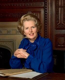 Margaret Thatcher, by Bernard Lee ('Bern') Schwartz, 24 May 1977 - NPG P1261 - © National Portrait Gallery, London