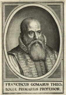 Franciscus Gomarus, after Unknown artist - NPG D25652
