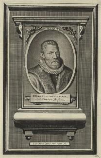Lucas Trelcatius, by Pieter Boudewyn van der Aa - NPG D25654