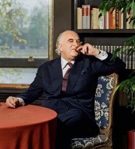 Arthur George Weidenfeld, Baron Weidenfeld, by Bern Schwartz - NPG P1266