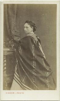 Princess Alice, Grand Duchess of Hesse, by Disdéri - NPG x45201