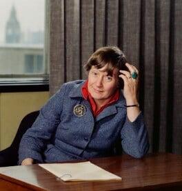 Shirley Williams, by Bern Schwartz, 19 May 1977 - NPG  - © National Portrait Gallery, London