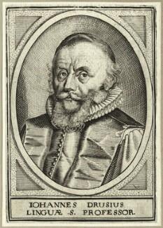 Johannes van den Driesche (Drusius), after Unknown artist - NPG D25658