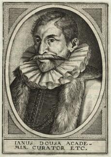 Janus Dousa (Johan van der Does), after Unknown artist - NPG D25663
