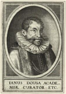 Janus Dousa (Johan van der Does), after Unknown artist - NPG D25664