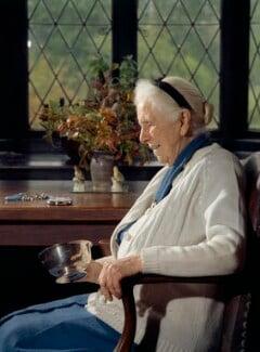 Constance Mary Katherine Applebee, by Bern Schwartz - NPG P1135