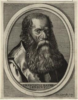 Francis Raphelengius, by Nicolas de Larmessin - NPG D25669
