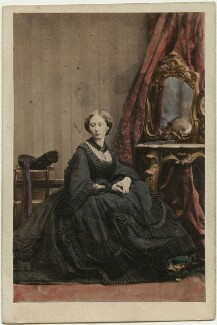 Princess Alice, Grand Duchess of Hesse, by Camille Silvy - NPG Ax46708